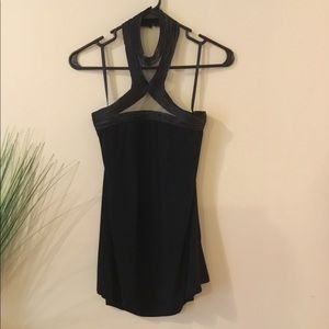 NWT Black High Neck Tank